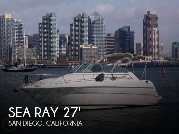 Used Sea Ray Boats For Sale in California by owner | 2001 Sea Ray 27