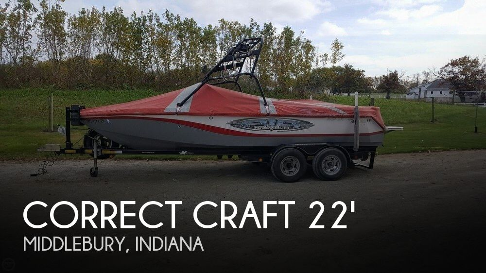 Used Boats For Sale in Fort Wayne, Indiana by owner | 2005 Correct Craft 21