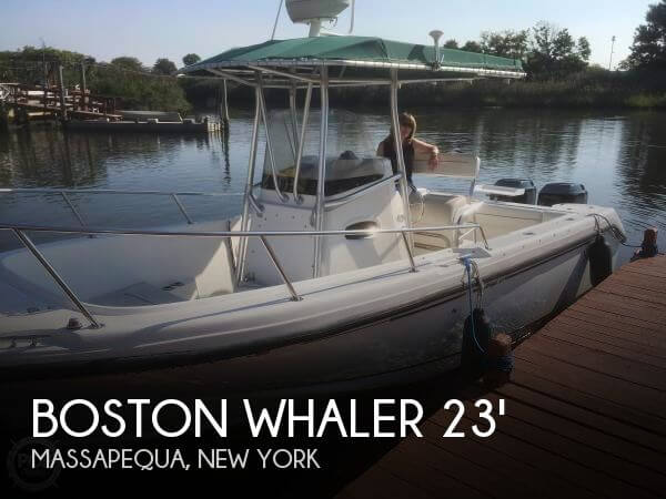 Used Boston Whaler Boats For Sale in New York by owner | 2000 Boston Whaler 23
