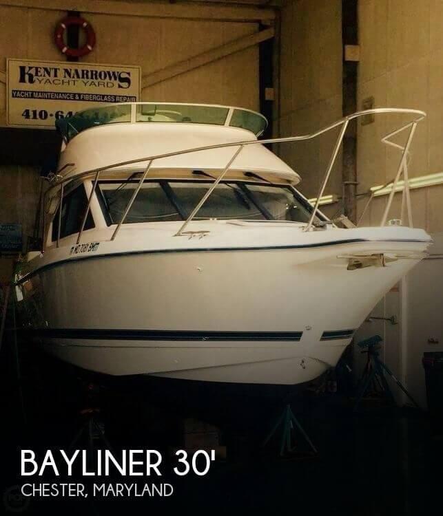 Used Bayliner Boats For Sale in Maryland by owner   2002 Bayliner 30