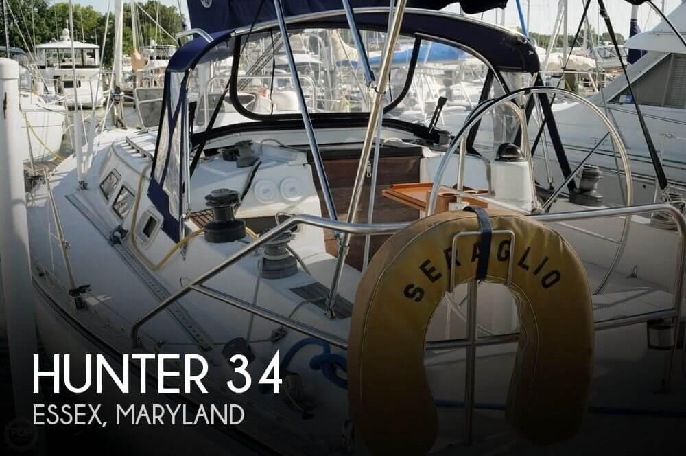 Used Hunter Sailboats For Sale in Maryland by owner | 1984 Hunter 34
