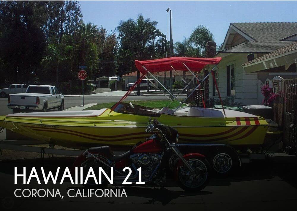 Used Hawaiian Boats For Sale by owner | 2007 Hawaiian 21