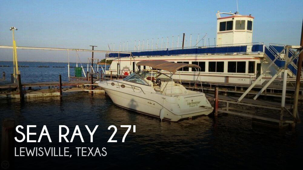 Used Sea Ray 27 Boats For Sale by owner | 1997 Sea Ray 27