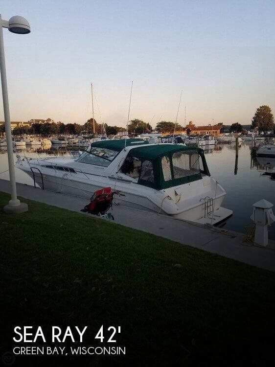 Used Boats For Sale in Wisconsin by owner | 1990 Sea Ray 42