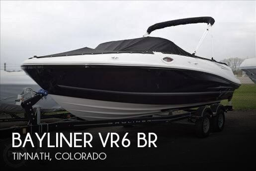 Used Boats For Sale in Fort Collins, Colorado by owner | 2016 Bayliner VR6 BR