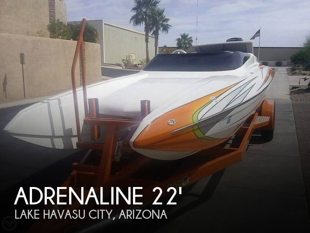 2015 Adrenaline boat for sale, model of the boat is Assault CAT 22 XL & Image # 1 of 40