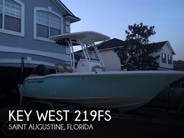 Used Key West Boats For Sale by owner | 2016 Key West 21