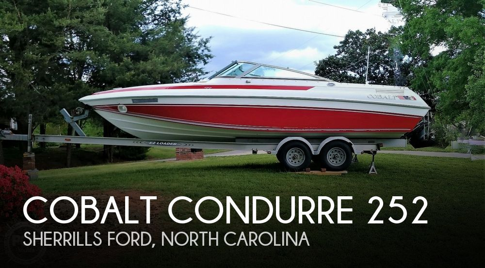 1990 Cobalt boat for sale, model of the boat is Condurre 252 & Image # 1 of 40