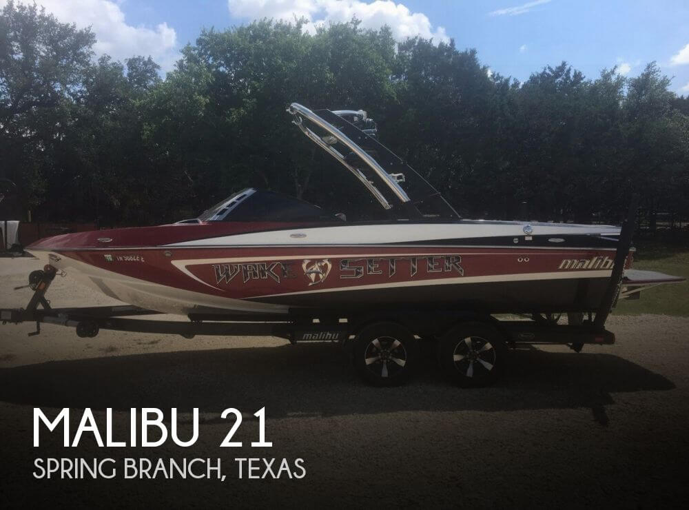 Used Boats For Sale in Austin, Texas by owner | 2012 Malibu 21