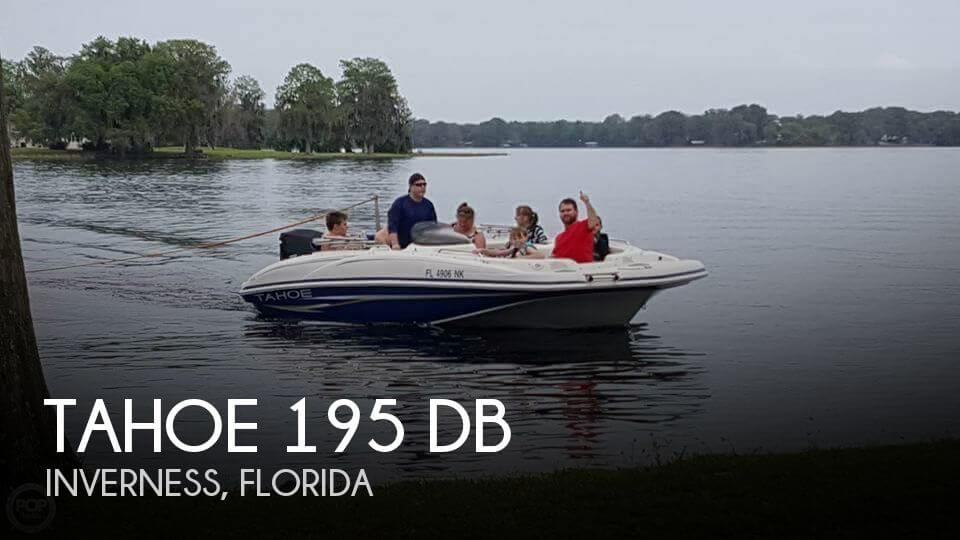 Used Tahoe Deck Boats For Sale by owner | 2007 Tahoe 19