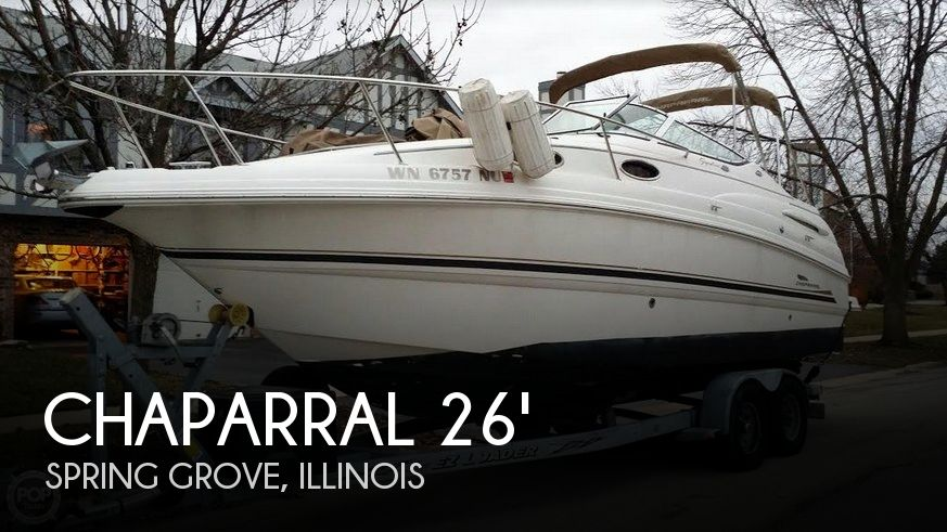 Used Boats For Sale in Madison, Wisconsin by owner | 2004 Chaparral 26