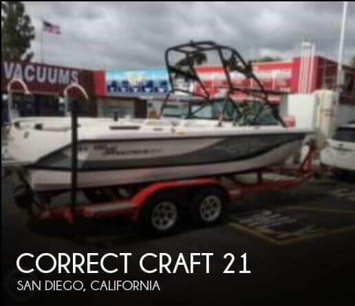 Used Correct craft Boats For Sale by owner | 2003 Correct Craft 21