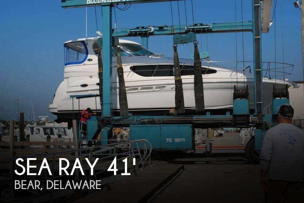 Used Boats For Sale in Wilmington, Delaware by owner | 2004 Sea Ray 41
