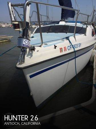Used Hunter Sailboats For Sale in California by owner | 1994 Hunter 25