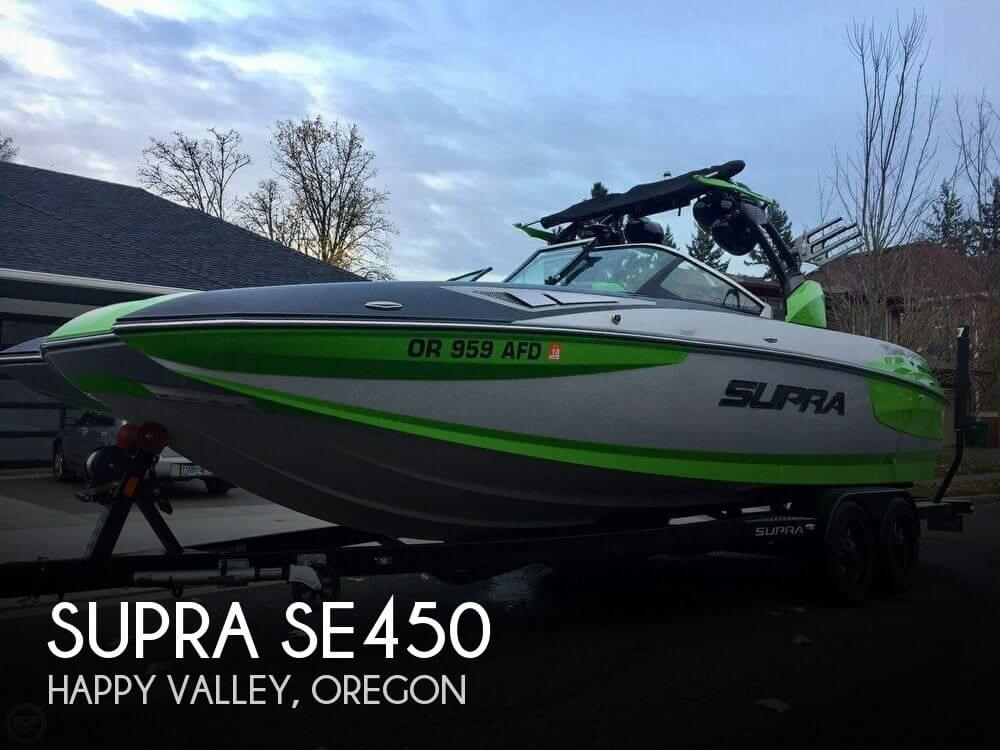 Used Boats For Sale in Oregon by owner | 2015 Supra 24