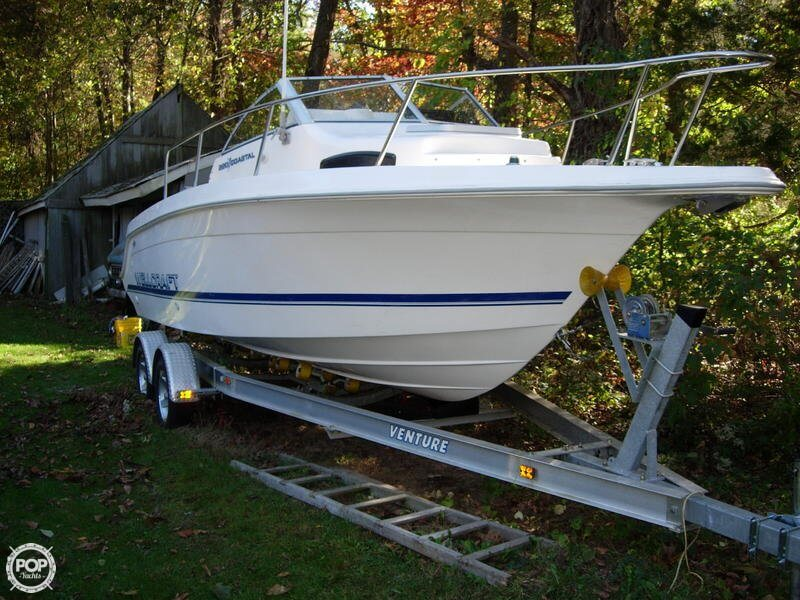 Bow View Of The 1997 Bayliner