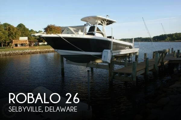 Used Boats For Sale in Delaware by owner | 2008 Robalo 26