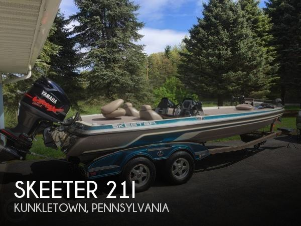 Used Boats For Sale in Scranton, Pennsylvania by owner | 2009 Skeeter 21