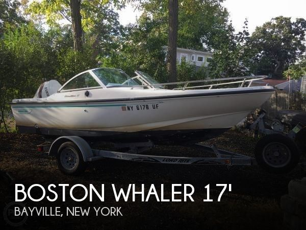 Used Boston Whaler Boats For Sale in New York by owner | 1995 Boston Whaler 17