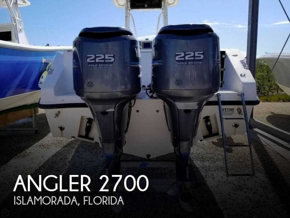 Used Angler Boats For Sale by owner | 2004 Angler 27