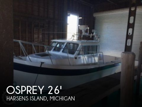 Used Osprey Boats For Sale by owner   2002 Osprey 26