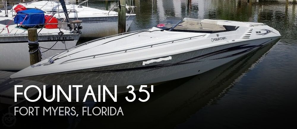 Used Fountain Boats For Sale by owner | 2006 Fountain 35