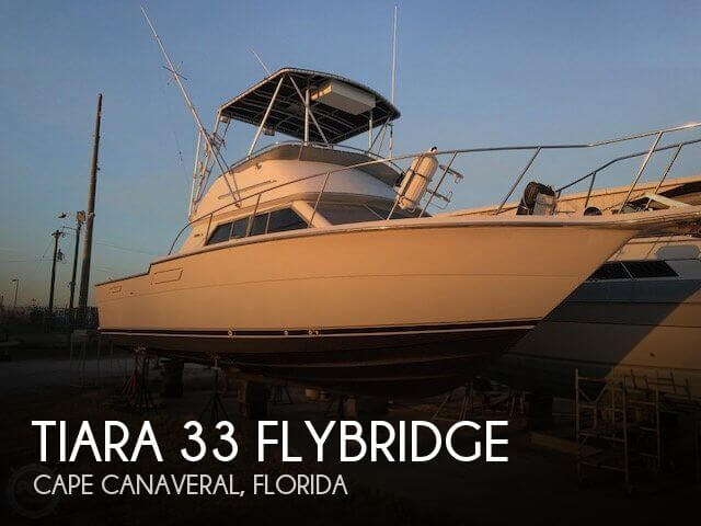 Used Fishing boats For Sale in Orlando, Florida by owner | 1987 Tiara 32