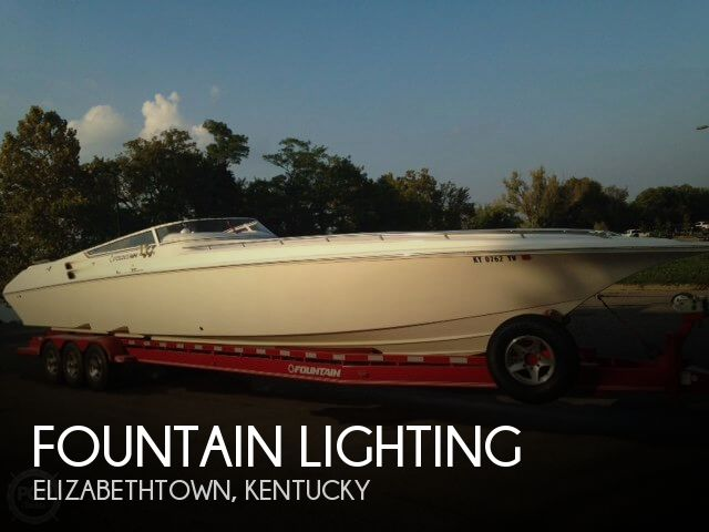 Used Boats For Sale in Kentucky by owner | 2006 Fountain 42