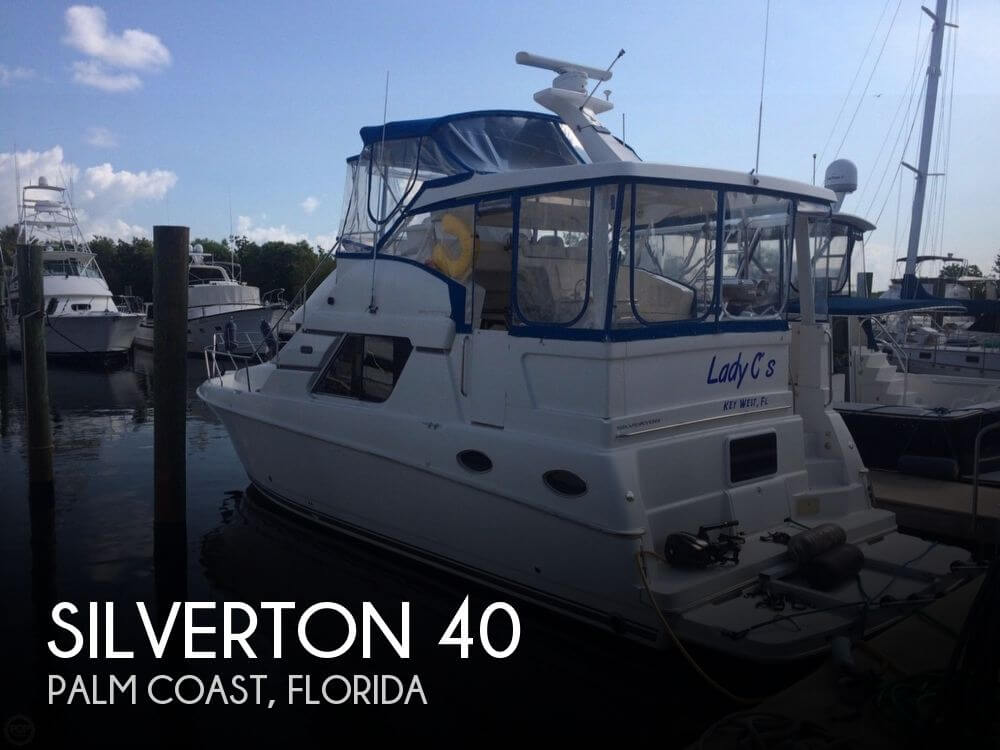 Used Boats For Sale in Ocala, Florida by owner | 1998 Silverton 40
