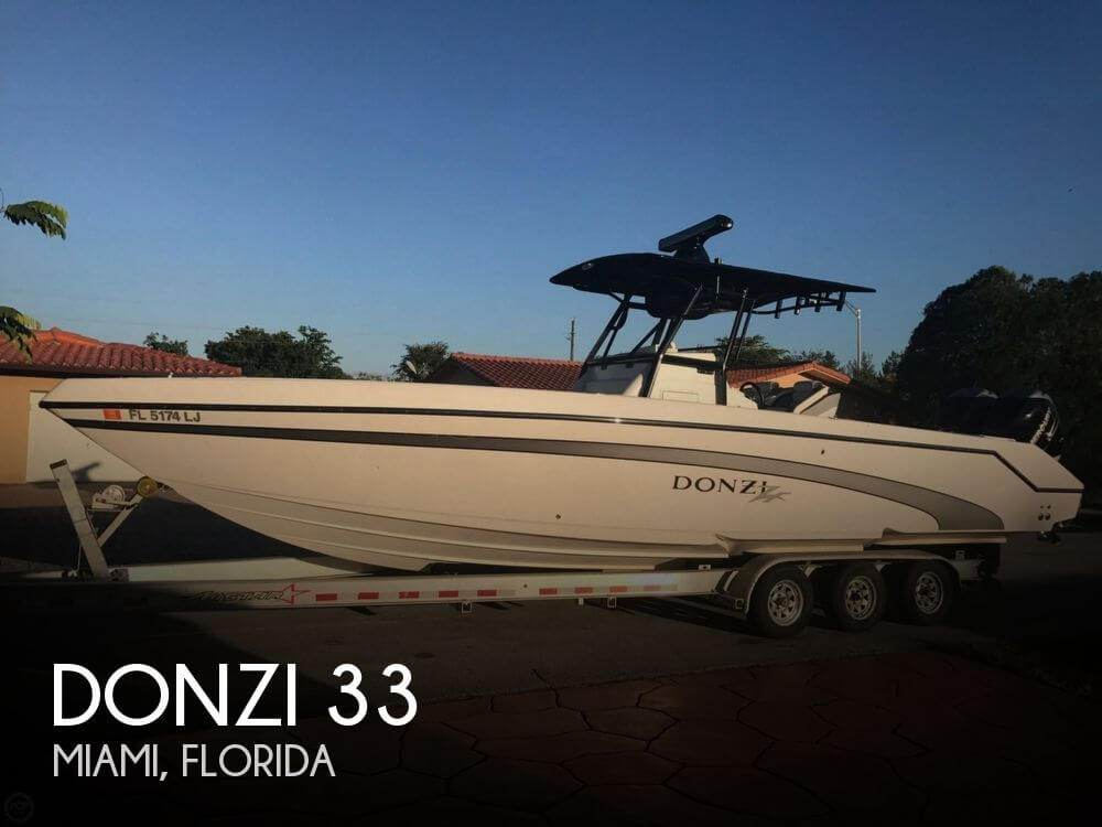 Used DONZI Boats For Sale by owner   2000 Donzi 33