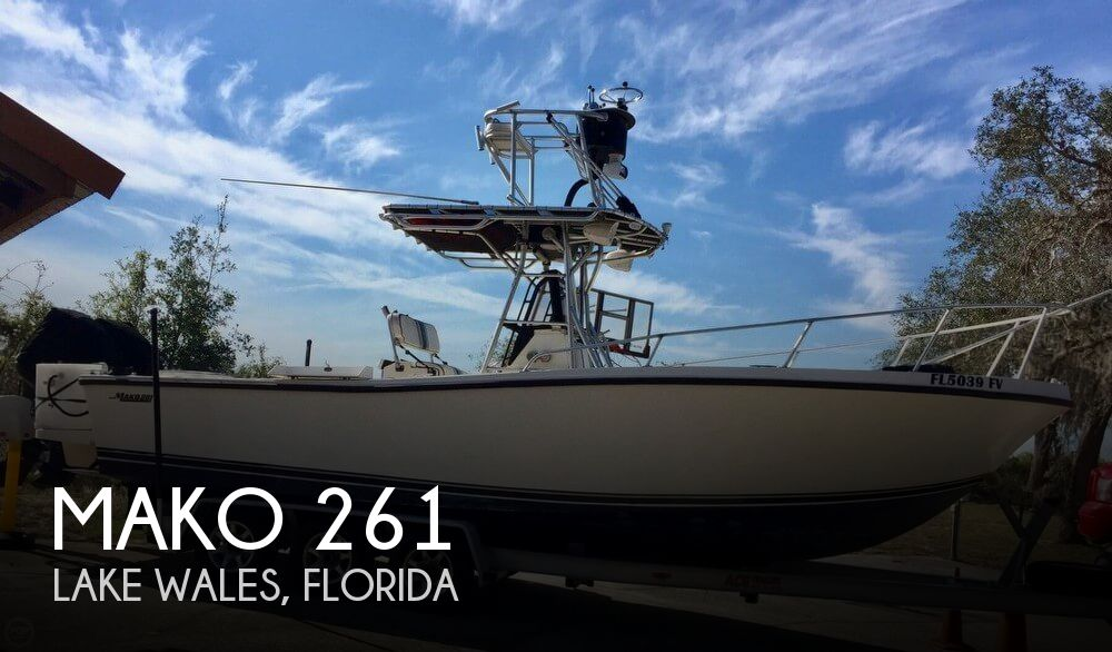 Used MAKO Boats For Sale in Florida by owner | 1987 Mako 26