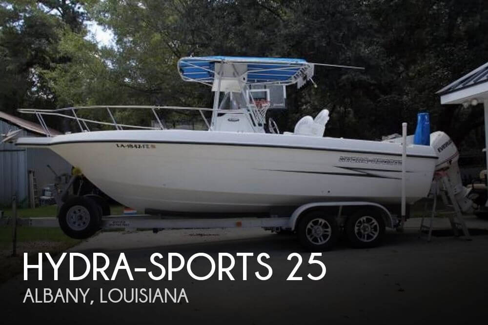 Used Hydra-Sports Boats For Sale by owner | 2000 Hydra-Sports 25