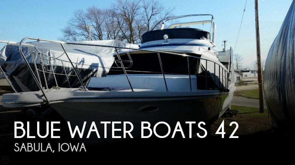 Used Boats For Sale in Iowa by owner | 1987 Blue Water Boats 42