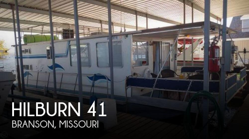 Used Boats For Sale in Springfield, Missouri by owner | 1987 Hilburn 41