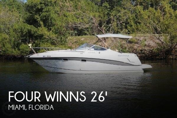 Used Four Winns 26 Boats For Sale by owner | 2000 Four Winns 26 Vista