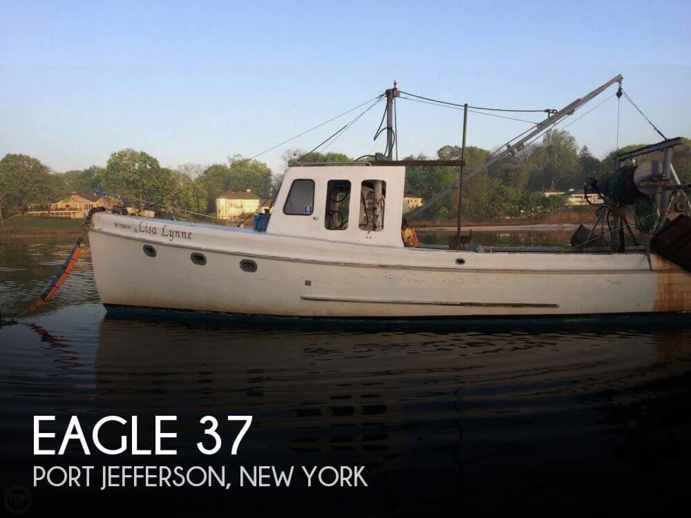 Used Eagle Boats For Sale by owner   1970 Eagle 37