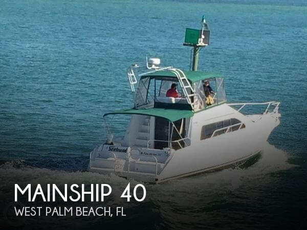 Used Mainship Boats For Sale by owner | 1995 Mainship 40