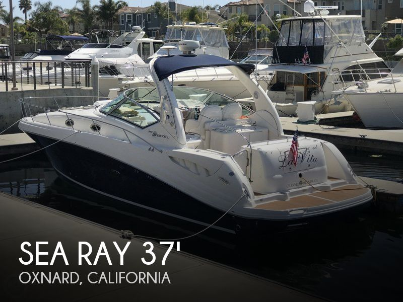 Used Sea Ray Boats For Sale in Oxnard, California by owner | 2005 Sea Ray 37