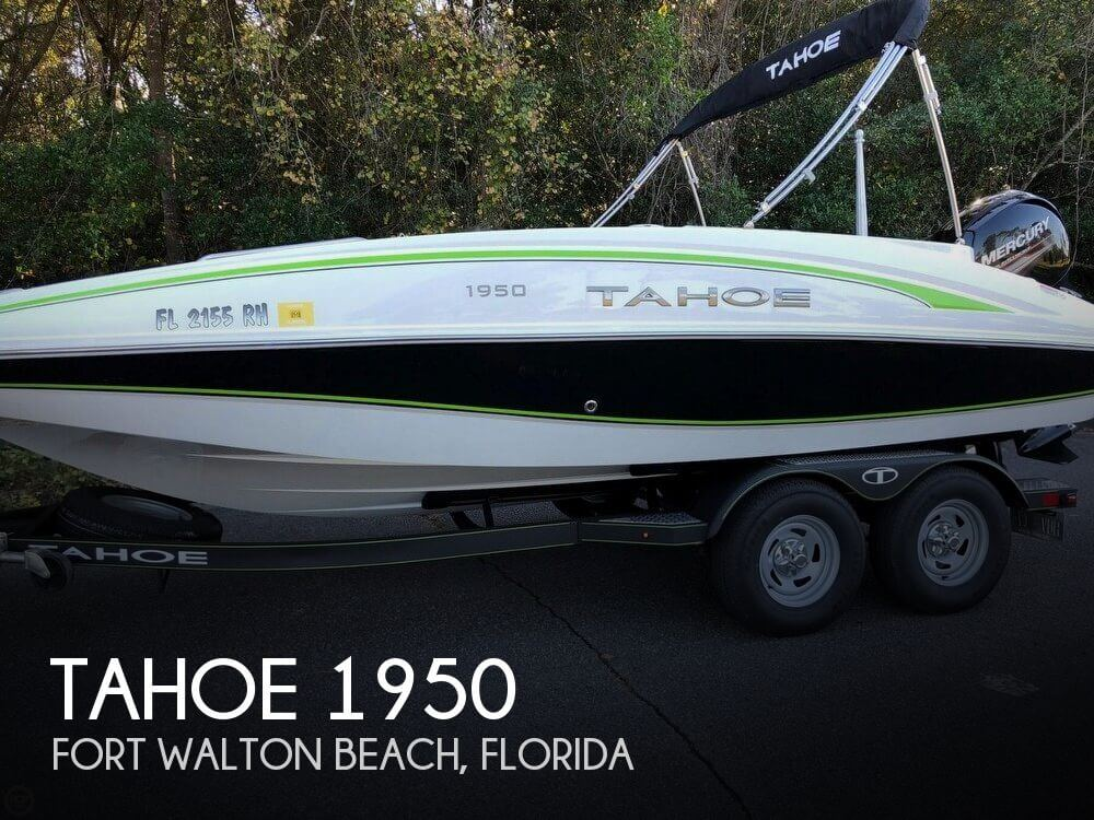 Used Tahoe Deck Boats For Sale by owner | 2017 Tahoe 19