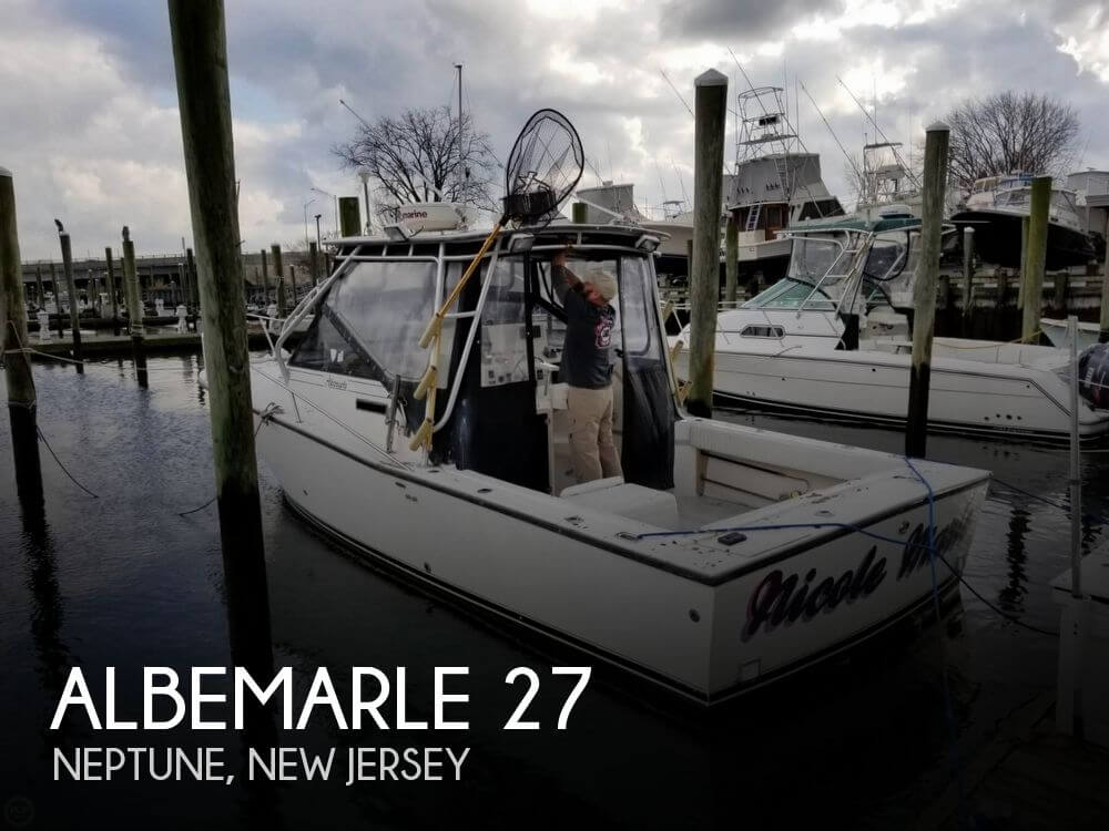 Used Albemarle Boats For Sale by owner   1996 Albemarle 27