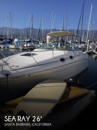 Used Sea Ray Boats For Sale in Oxnard, California by owner | 2000 Sea Ray 26