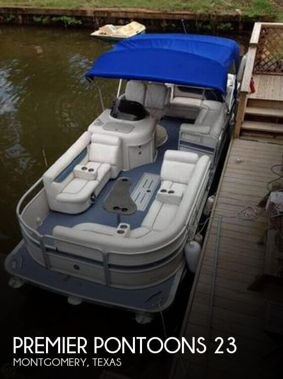 Used Pontoon Boats For Sale in Texas by owner | 2008 Premier Pontoons 23