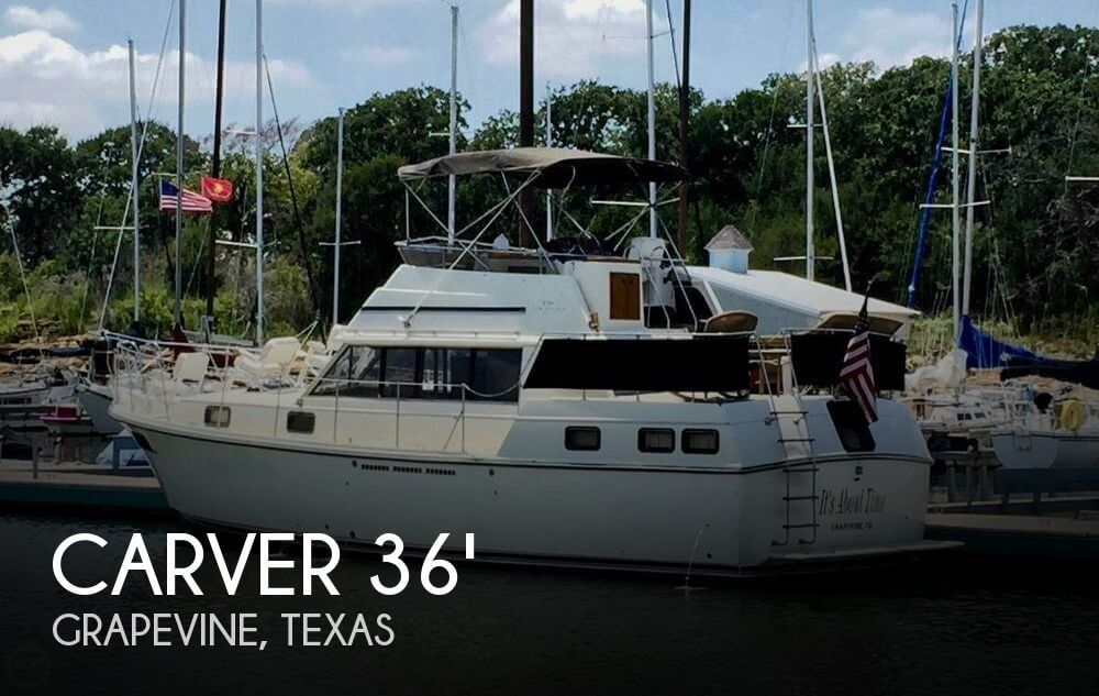 Used Carver 36 Boats For Sale by owner | 1982 Carver 36