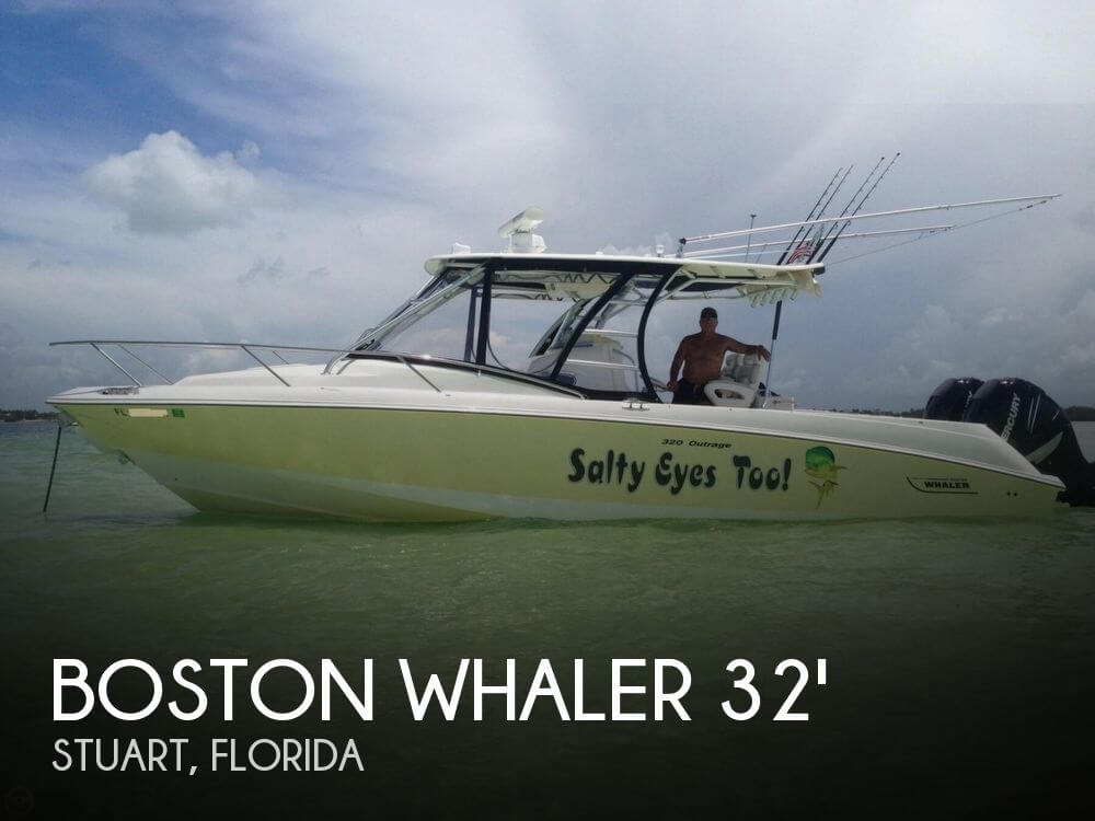 Used Boston Whaler Boats For Sale by owner | 2008 Boston Whaler 320 Outrage Cuddy