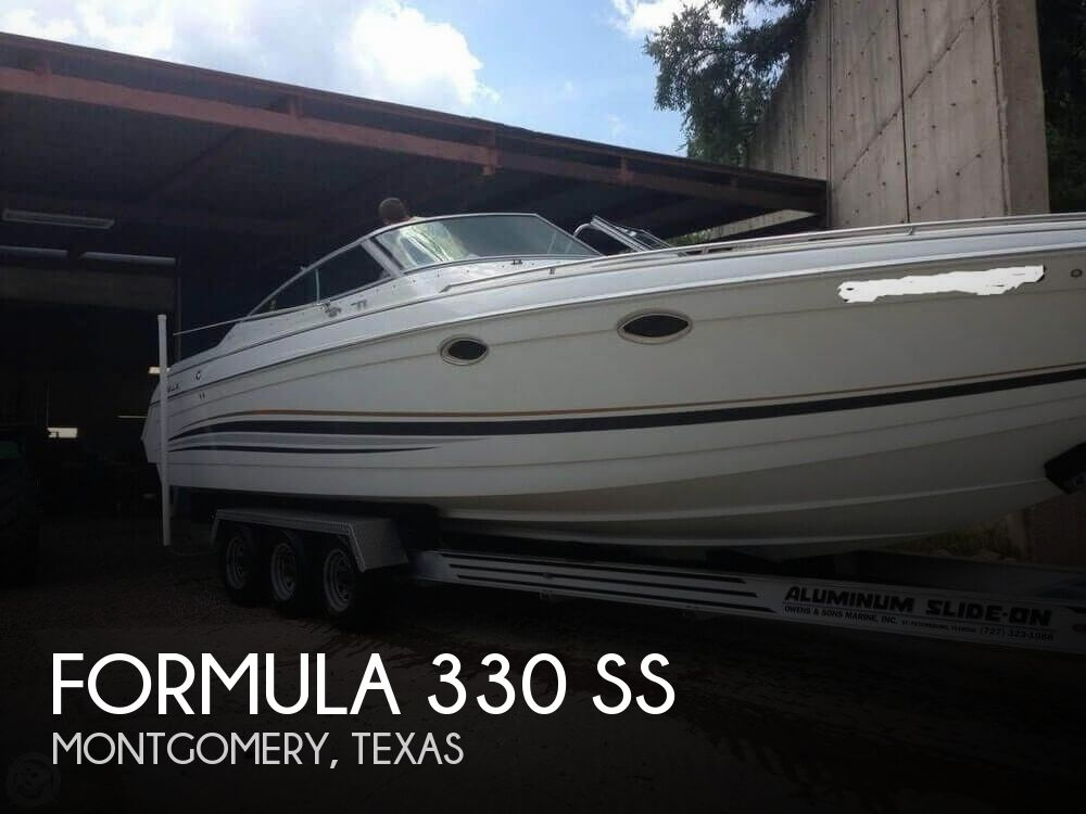 2001 Formula boat for sale, model of the boat is 330 SS & Image # 1 of 40