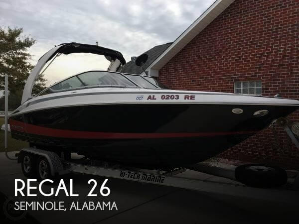 Used Regal 26 Boats For Sale by owner | 2012 Regal 26