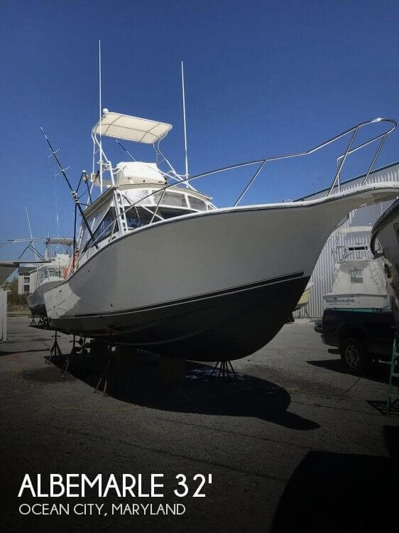 Used Fishing boats For Sale in Maryland by owner | 1993 Albemarle 32