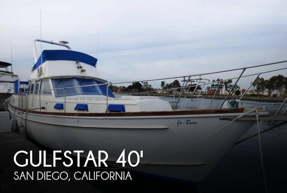 1975 Gulfstar Trawler Yacht Mark II
