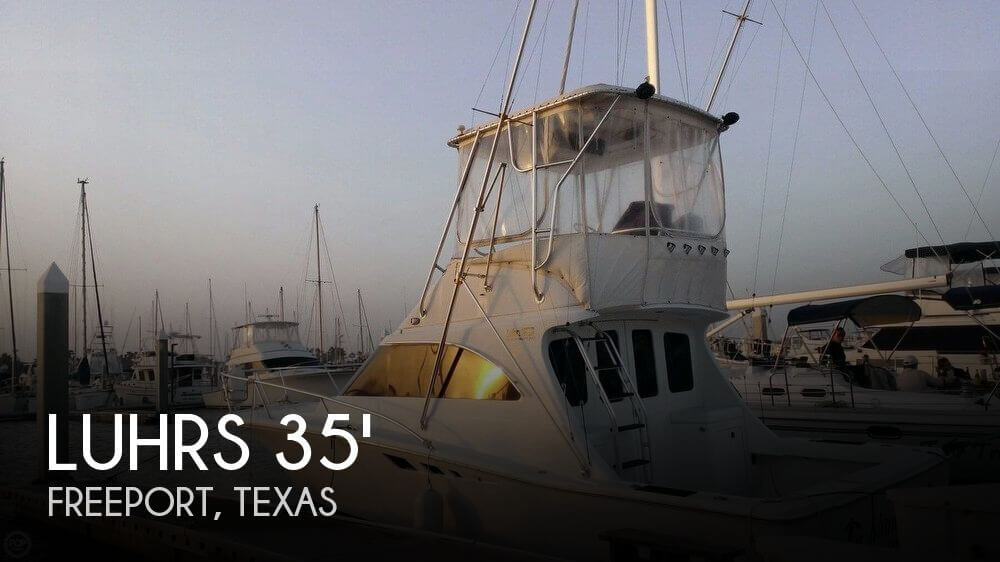 Used Fishing boats For Sale in Texas by owner | 1997 Luhrs 35