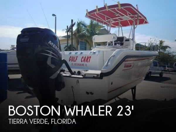 Used Boston Whaler 23 Boats For Sale by owner | 2000 Boston Whaler 23